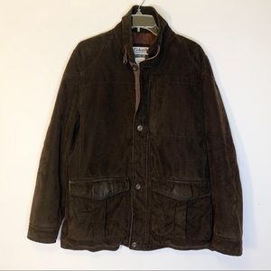 Columbia Men's Heavy Coat in Brown Size S